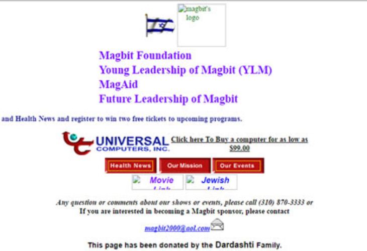 Magbit-Website-April-2001