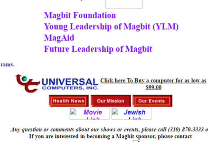 Magbit-Website-February-2001